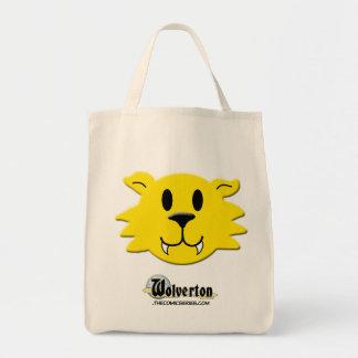 Werewolf Smiley Tote Bag