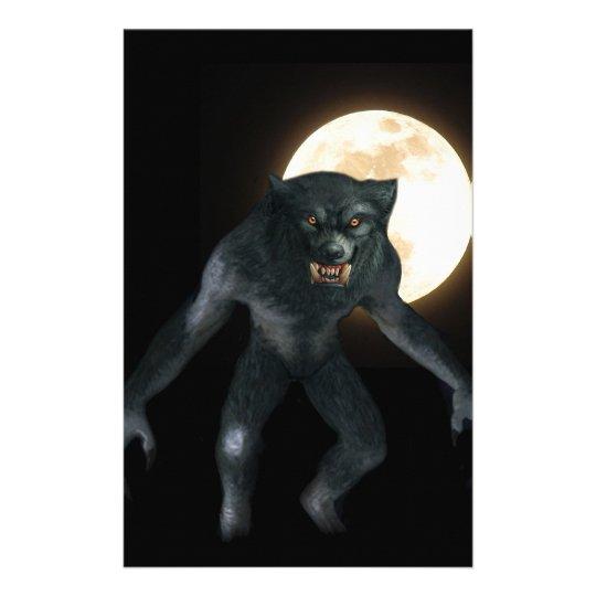 Werewolf Stationery