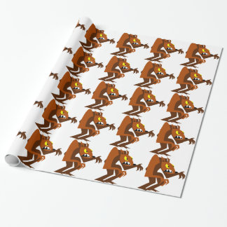 Werewolf Wrapping Paper