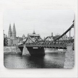 Weser Bridge, Bremen, c.1910 Mouse Pad