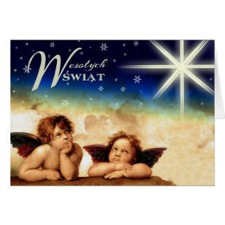 Wesolych Swiat Polish Christmas Cards