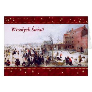 Wesołych Świąt. Polish Christmas Greeting Cards