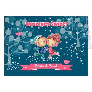 Wesolych Swiat. Polish Christmas Greeting Cards