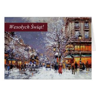 Wesolych Swiat Polish Christmas Greeting Cards
