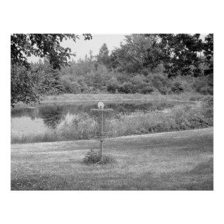 Wessel Pines Disc Golf Course Print
