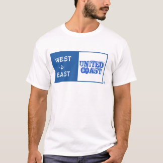 West 2 East  United Coast T-Shirt