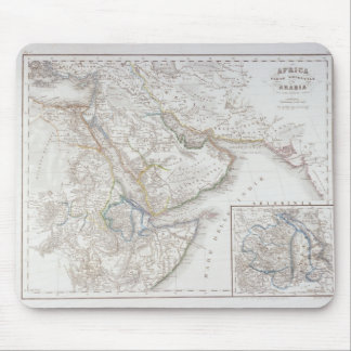 West Africa and Arabia Mousepad