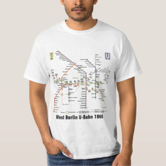 West Berlin U-Bahn 1968 T-Shirt
