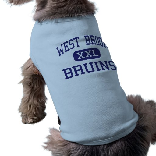 West Brook - Bruins - High School - Beaumont Texas Pet Clothing