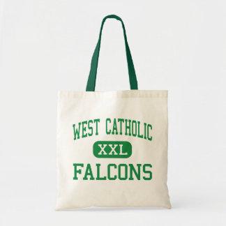 West Catholic - Falcons - High - Grand Rapids Budget Tote Bag