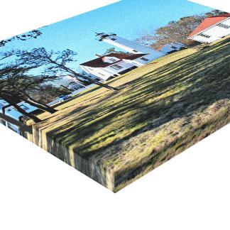 West Chop Lighthouse Marthas Vineyard Canvas Print
