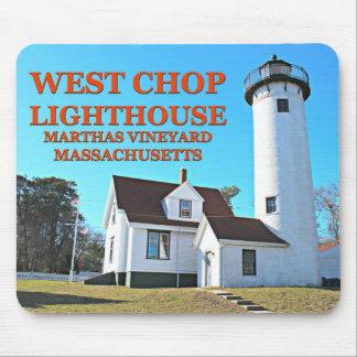 West Chop Lighthouse, Marthas Vineyard MA Mousepad