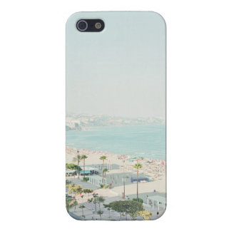 West Coast Beach Town Scene Case For iPhone 5/5S