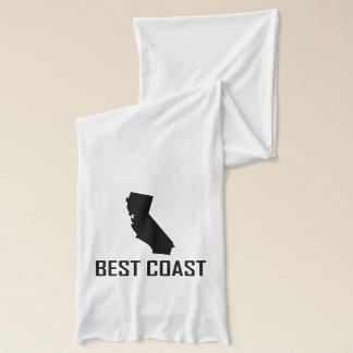 West Coast Best California Black Scarf
