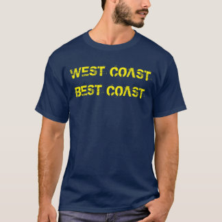 """West Coast Best Coast"" t-shirt"
