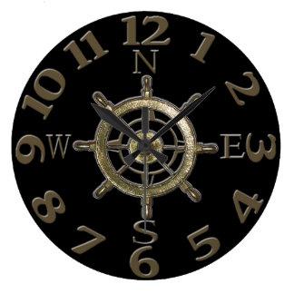 West Coast Compass Numbers Clocks