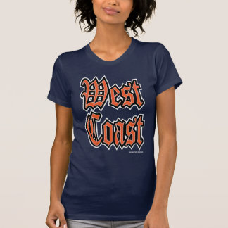 West Coast Orange Dark T-Shirt
