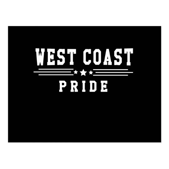 West Coast Pride Postcard