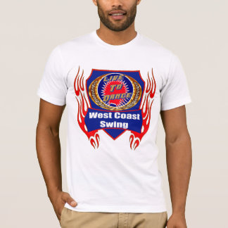 West Coast Swing Dance Wear T-shirts
