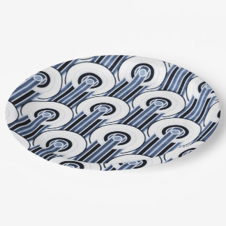 West End Blues Paper Plate