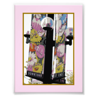 West End Lamp Post Photo Print