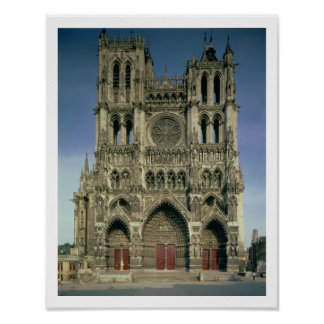 West Facade, c.1220-70 (photo) (for details see 94 Poster