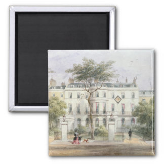 West front of Sir Robert Peel's House Square Magnet