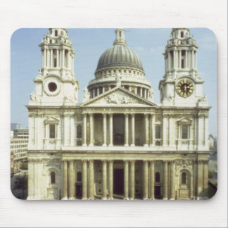 West front of St. Paul's Cathedral, designed by Si Mousepad