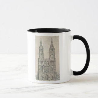 West Front of Strasbourg Cathedral Mug
