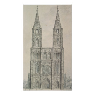 West Front of Strasbourg Cathedral Poster