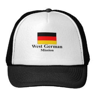 West German Mission Hat