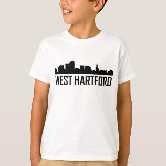 West Hartford Connecticut City Skyline T-Shirt