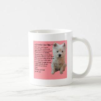 west Highland Terrier  Grandad Poem Coffee Mug