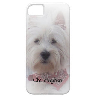 West Highland Terrier Just Add Name Case For The iPhone 5