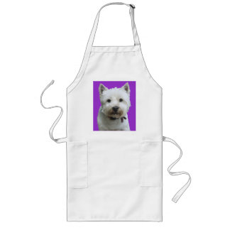 West Highland Terrier Long Apron