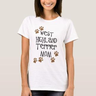 West Highland Terrier Mom T-Shirt