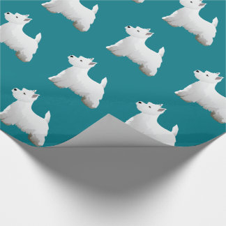 West Highland White Terrier Basic Breed Design Wrapping Paper