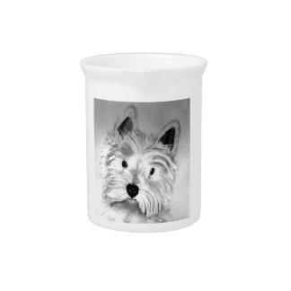 West Highland White Terrier Beverage Pitchers