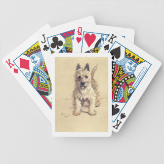 West Highland White Terrier Bicycle Playing Cards