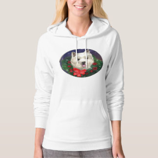 West Highland White Terrier Christmas Hoodie