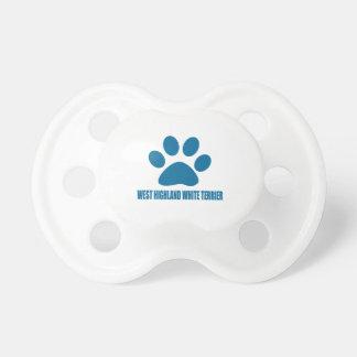 WEST HIGHLAND WHITE TERRIER DOG DESIGNS DUMMY