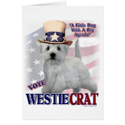 West Highland White Terrier Gifts Cards