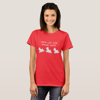 West Highland White Terrier Illustrated T-Shirt