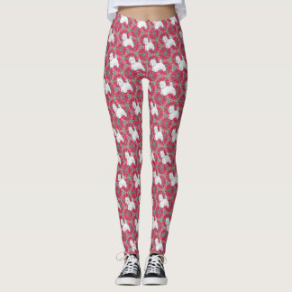 West Highland White Terrier Leggings