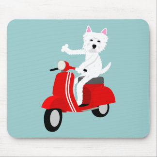 West Highland White Terrier  Mousepads
