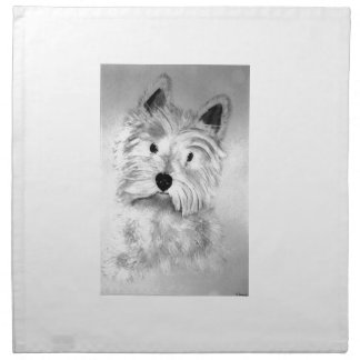 West Highland White Terrier Napkin