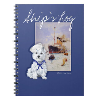 West Highland White Terrier NOTES Notebook
