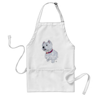 West Highland White Terrier Patriotic Aprons