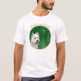 West Highland White Terrier Peace T-Shirt