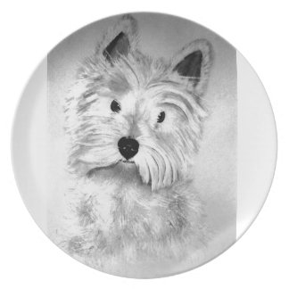 West Highland White Terrier Plate